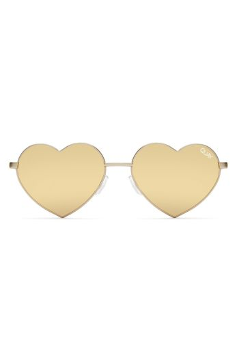 Quay Heartbreaker Gold Front