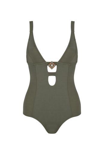 Boho Bikini Swimsuit Sublime Olive Front