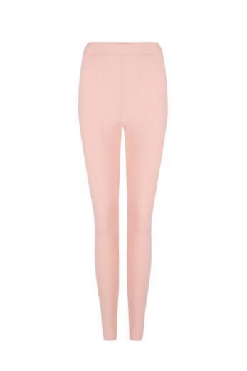 By Veer Kids Legging Powder Pink Front