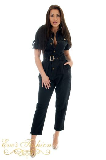 Work It Jumpsuit Black