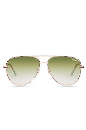 Quay x Desi High Key Rose/Green Fade Desi Perkins #QUAYXDESI Front