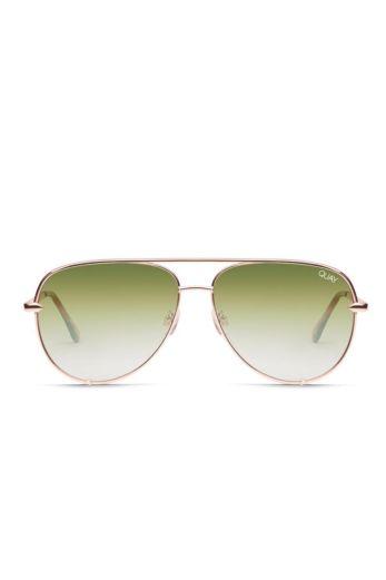 Quay x Desi High Key Mini Rose/Green Fade Desi Perkins #QUAYXDESI FRONT