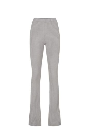 By Veer Flare Pants Light Grey Front