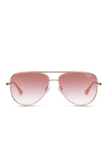 Quay x Desi High Key Mini Rose Copper Fade Desi Perkins #QUAYXDESI Front
