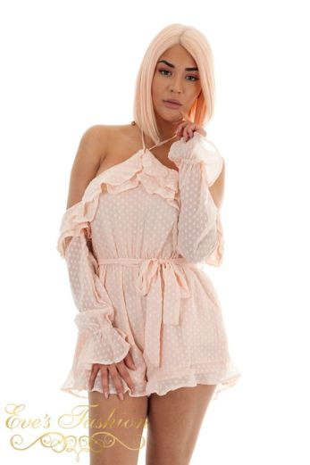 Lighthearted Playsuit Pink