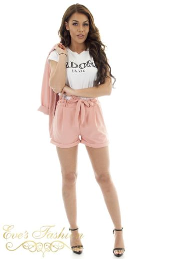 Cathy Summer Suit Pink