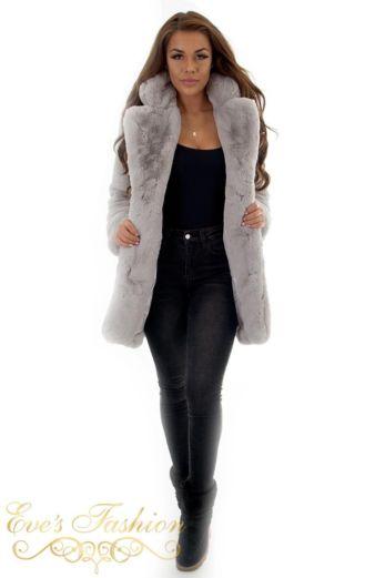 Chloe Coat Grey