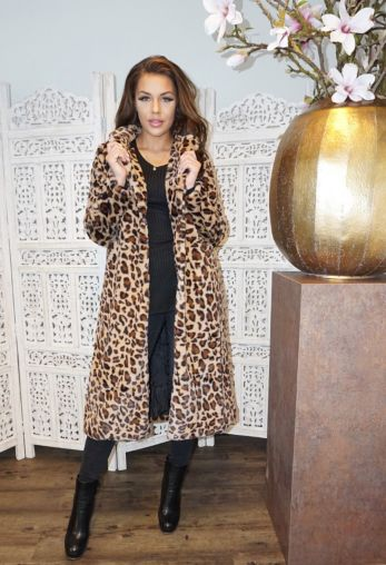 Teddy Coat Leopard