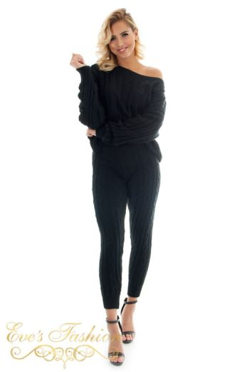 Bella Comfy Suit Black