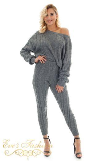 Bella Comfy Suit Dark Grey