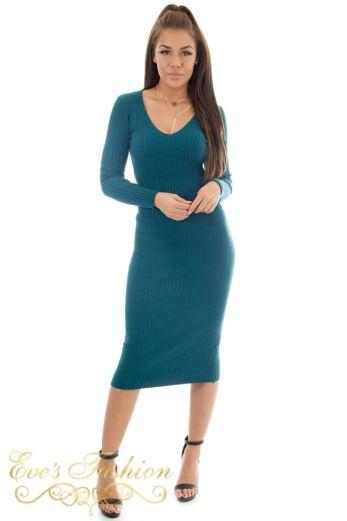Comfy Doll Dress Ocean Blue
