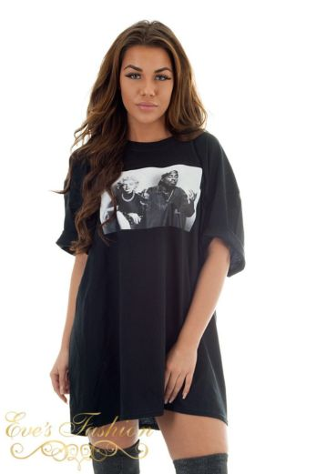 Eve Iconic Legends Tee Black Close