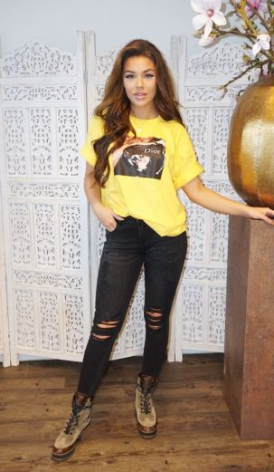 Panther Tee Yellow