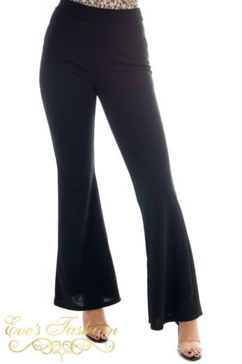 Flare Pants Basic Black