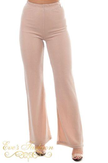 Jacky Luxury Glitter Pink Blouse Close