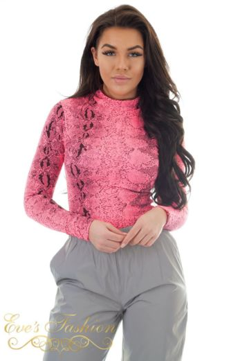 Rania Snake Body Pink