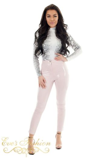 Vinyl Pants Pink