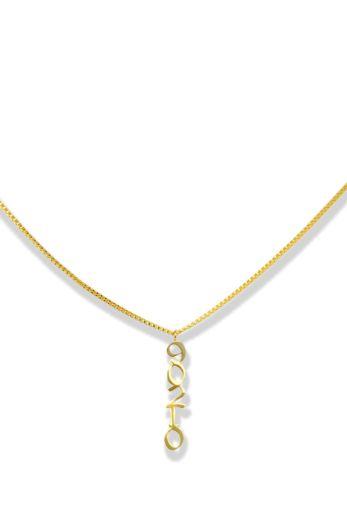 LA Sisters - LA Necklace front