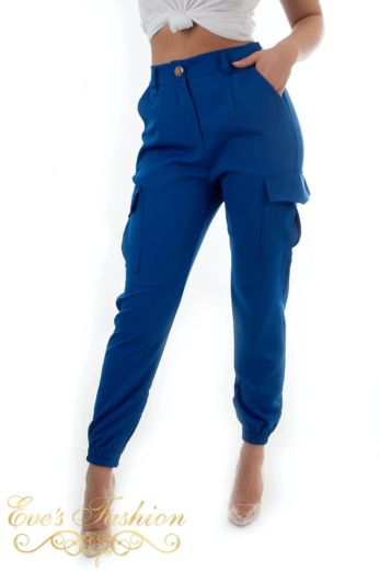 Cargo Pants Kobalt Blue