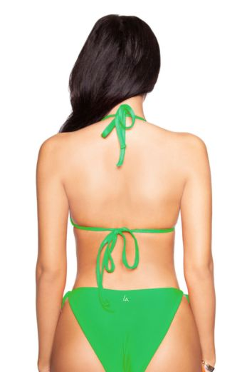 Basic Triangle Bikini Green