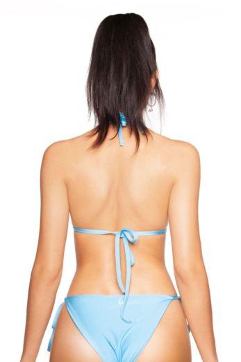 Basic Triangle Bikini Light Blue