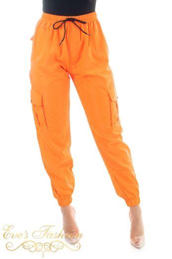 Track Pants Neon Orange