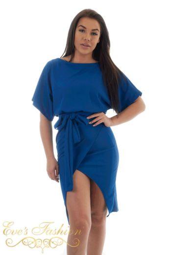 Amilia Tie Dress Kobalt Blue