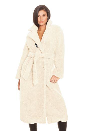Teddy Coat Creme