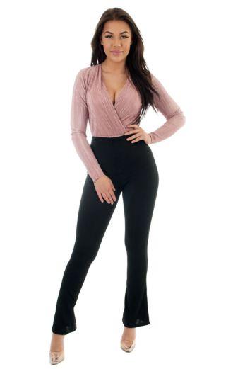 Selene Glam Bodysuit Pink