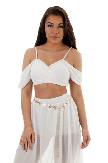 Fab Blossom Two Piece White