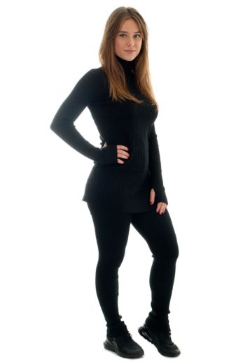 Eve Gigi Comfy Two Piece Black Side