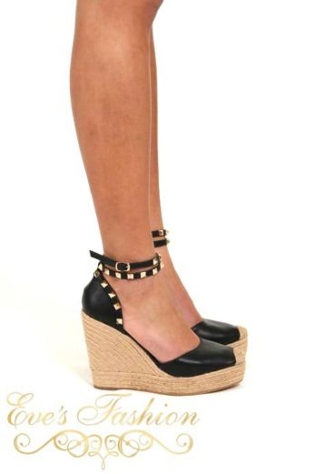 Eve - Valentina Wedges Black