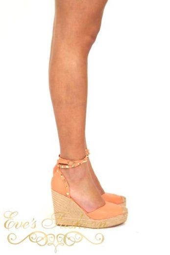 Valentina Wedges Coral