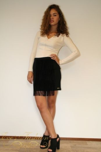 Fringe Skirt Mini
