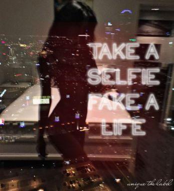 Take A Selfie Tee Black